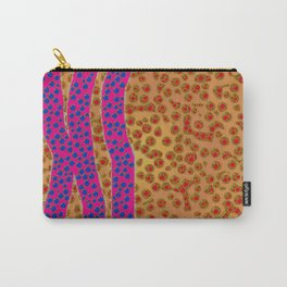 lizard skin stripes and dots Carry-All Pouch