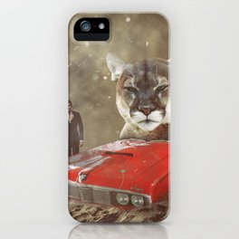 James Bond Characters: 1969 Mercury Cougar XR7 (On Her Majesty's Secret Service) iPhone Case