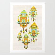 Clock Wall Art Print