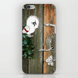 Theo and the Worm iPhone Skin