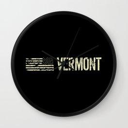 Black Flag: Vermont Wall Clock