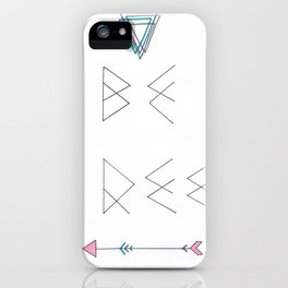Be Free iPhone Case