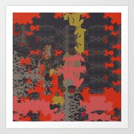 Energy Square 2 Art Print
