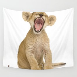 Lion cub Wall Tapestry