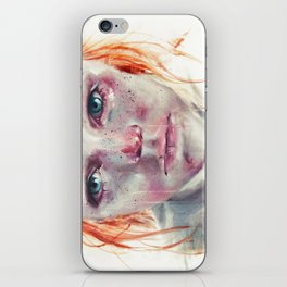 my eyes refuse to accept passive tears iPhone Skin