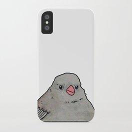 Annoyed Bird Meme iPhone Case