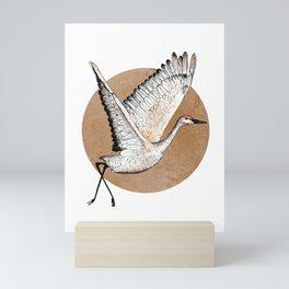 Crane for Will Mini Art Print