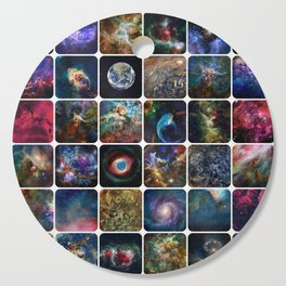 The Amazing Universe - Collection of Satellite Imagery Cutting Board