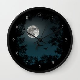 Looking through the trees Wall Clock