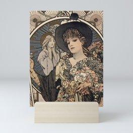LA TOSCA Alphonse Mucha 1898 Mini Art Print