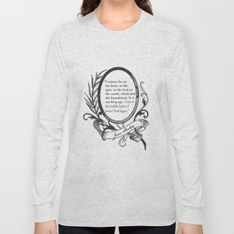 """Jane Austen """"In the Middle"""" Long Sleeve T-shirt"""