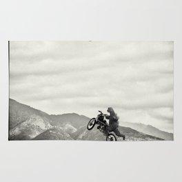 gozillas ride Rug