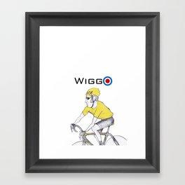 Wiggo Framed Art Print