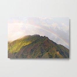 Rainbow Over Stairway to Heaven  Metal Print