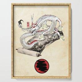 Okami Dragon Zodiac Sign Serving Tray