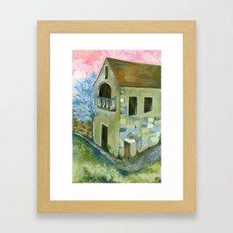 Home at Daylight Framed Art Print