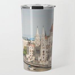 Budapest Parliament Travel Mug