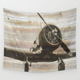 Old airplane 2 Wall Tapestry