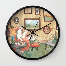The Art Collector Wall Clock