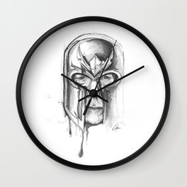 Sir Ian McKellen as Magneto Wall Clock