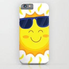 Hello Summer -Spring Summer Vibes - 2020 Modern Style Sun iPhone Case