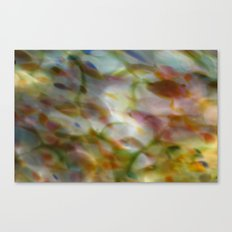 Abstract Dots Canvas Print