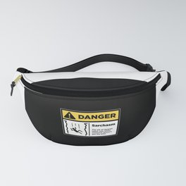 Warning Fanny Pack
