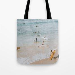 lets surf iii Tote Bag
