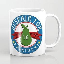 DESPAIR FOR PRESIDENT Coffee Mug