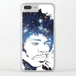 Hendrix Star Dust Clear iPhone Case
