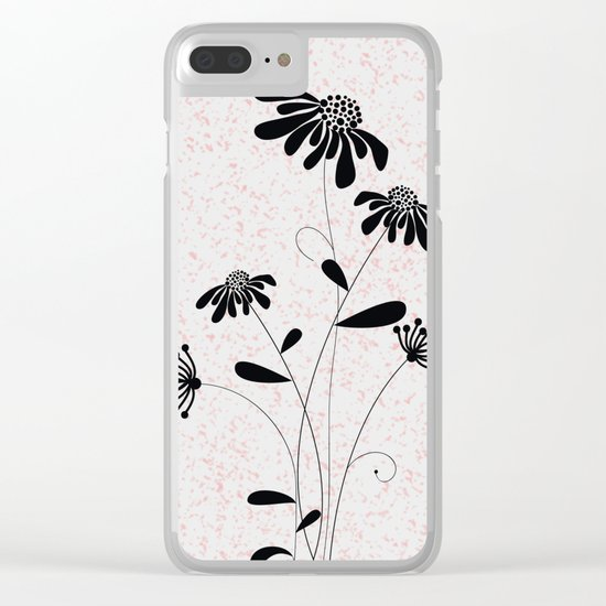 flower..2 Clear iPhone Case