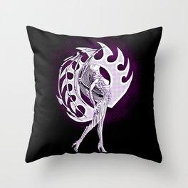 Comic Style Kerrigan Throw Pillow