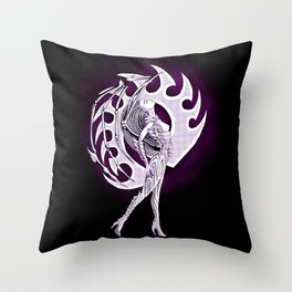 Comic Style Kerrigan Throw Pillow