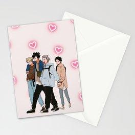 Karasuno Haikyuu Stationery Cards