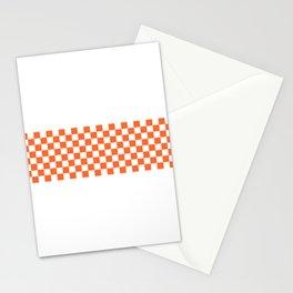 Orange Ska Line Stationery Cards