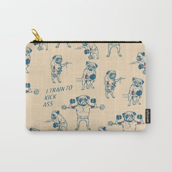 Pug Workout Carry-All Pouch