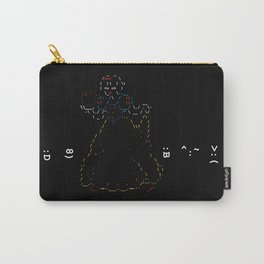 Snow White and the 7 Emoticons Carry-All Pouch
