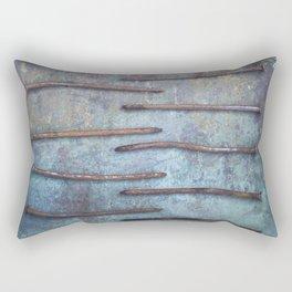 Ten Nails Rectangular Pillow