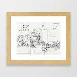 Worth Framed Art Print