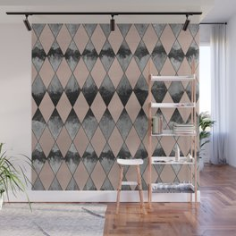 Geometric Diamond Glam #1 #geo #decor #art #society6 Wall Mural