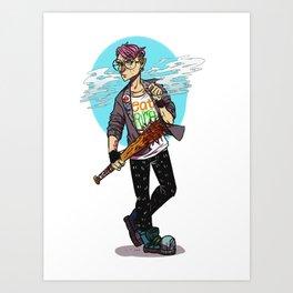 Kid Omega Art Print