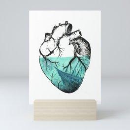 Sinking Heart Mini Art Print