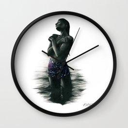 Crystal Lake. Wall Clock