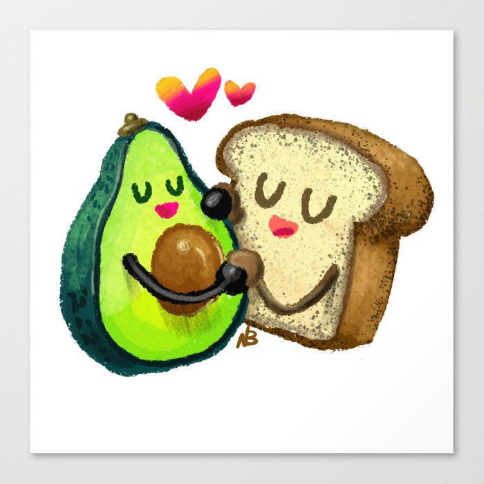 Avocado Toast Canvas Print