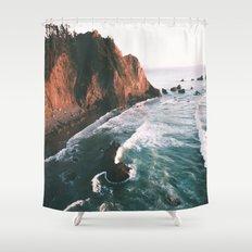 Oregon Coast V Shower Curtain