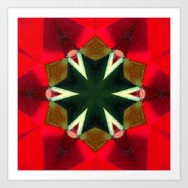 Red Light In My Eyes Art Print