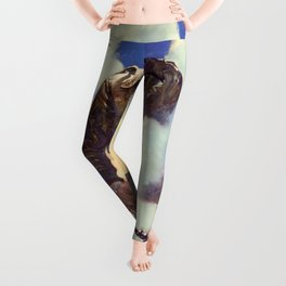 Vintage poster - Army Air Forces Leggings