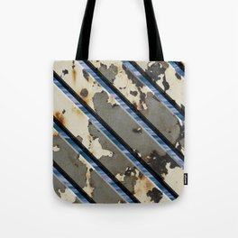 Rusted Boardwalk Tote Bag