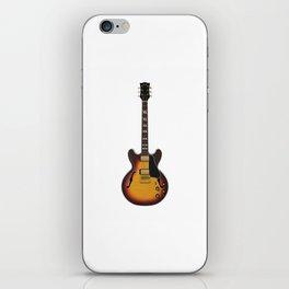 Hollow Body Guitar iPhone Skin