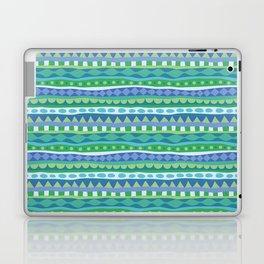 Stripey-Oceania Colors Laptop & iPad Skin
